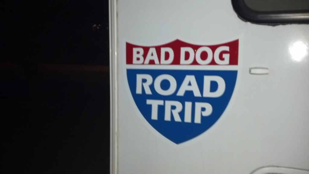 bad dog road trip