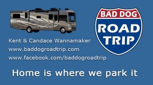 Bad Dog Road Trip Business Card